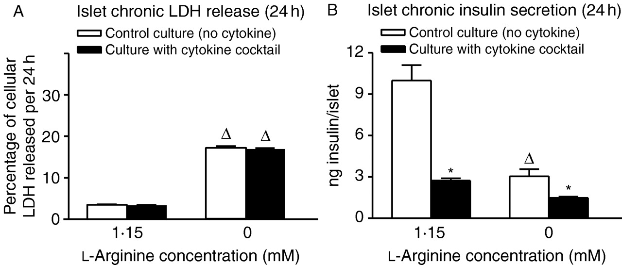 l-Arginine is essential for pancreatic β-cell functional integrity