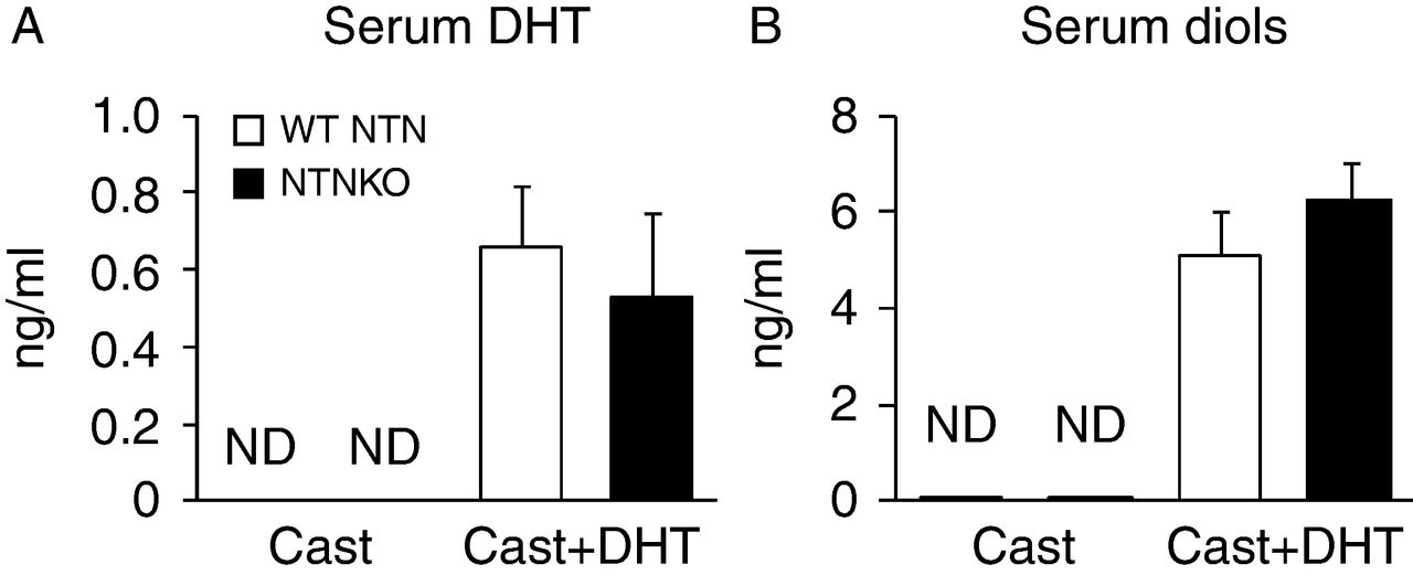 Evidence for increased tissue androgen sensitivity in